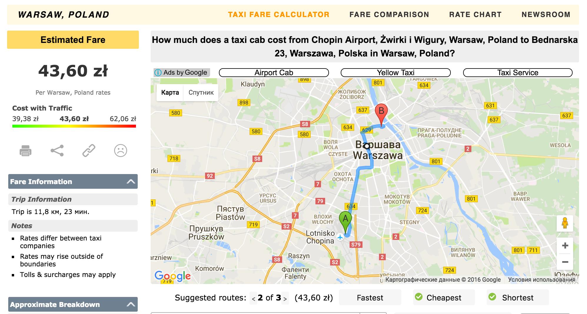 Как общаться с таксистами ваэропорту