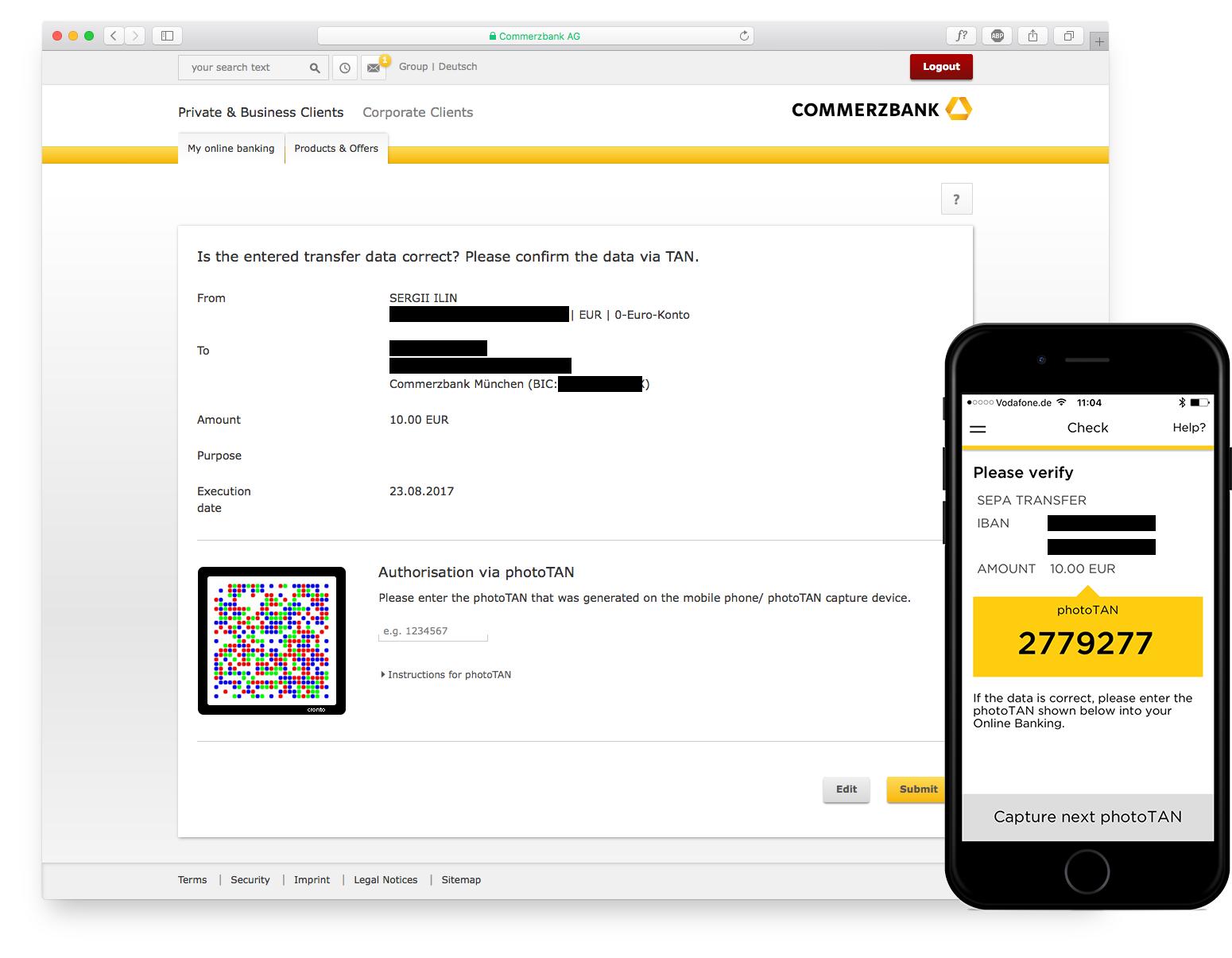 Так выглядит последний экран онлайн-платежа
