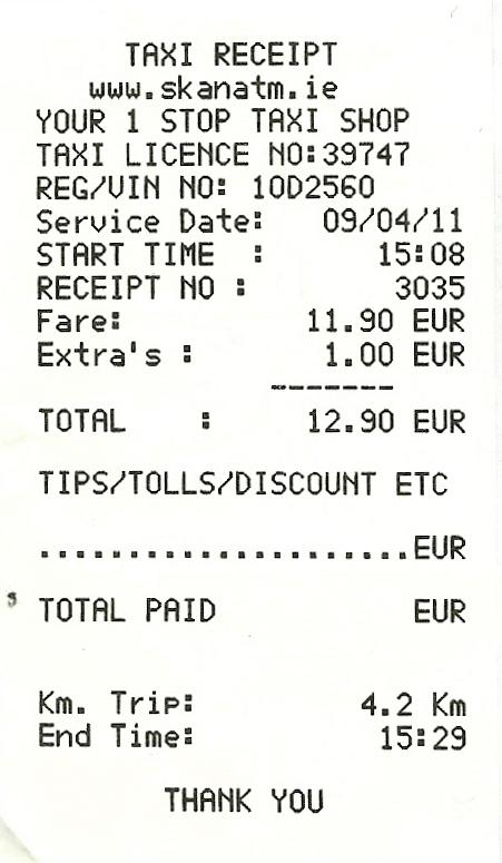 На чеке дополнительные сборы не расписаны — просто «extra's».   Это может быть багаж или ожидание. Источник: {travelerdrawer.blogspot.ru}(http://travelerdrawer.blogspot.ru)
