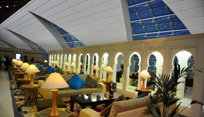 Зал первого класса в Дубае