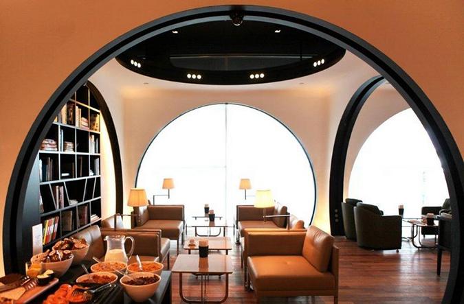 Бизнес-зал в аэропорту Стамбула