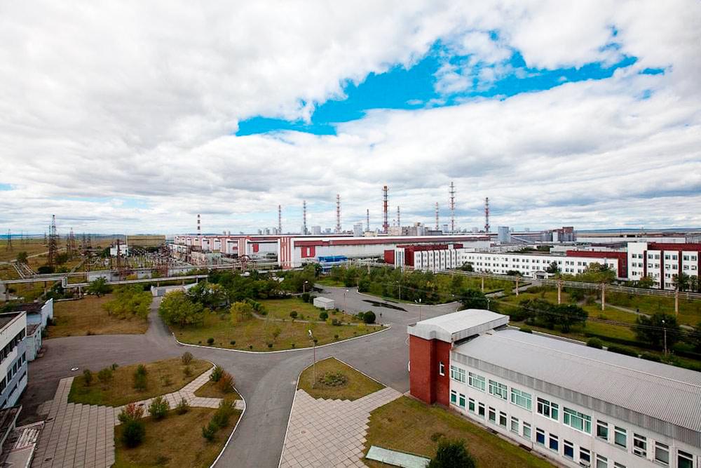 Саяногорский алюминиевый завод. Источник: «Турпром»