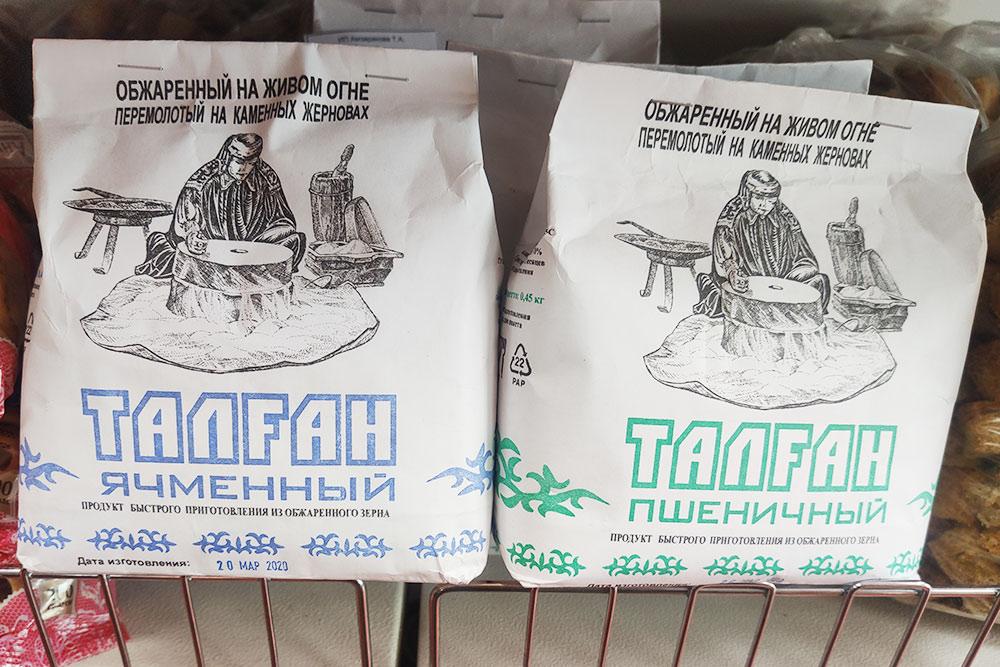 Талган можно приготовить дома, такой набор в&nbsp;магазине стоит 80&nbsp;<span class=ruble>Р</span>