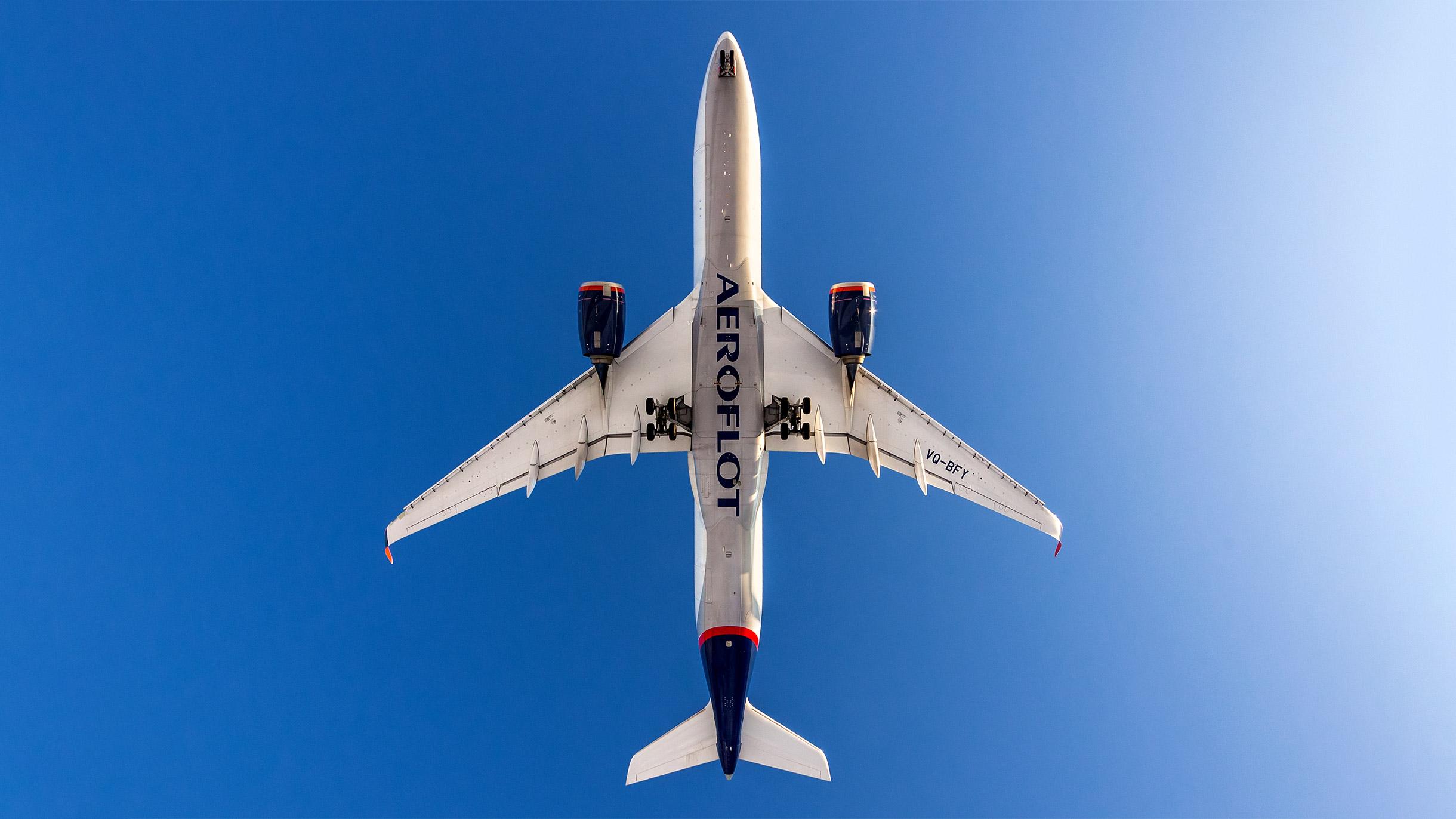 «Аэрофлот» отменил рейсы в 87 городов мира