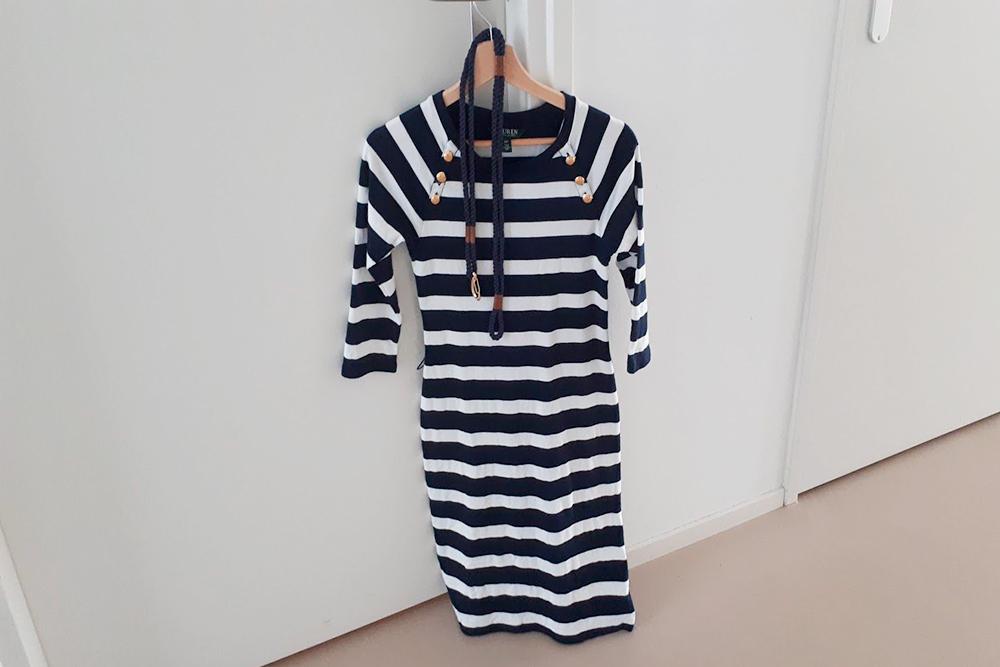 Мое платье из аутлета «Ральф Лорен» за 40€