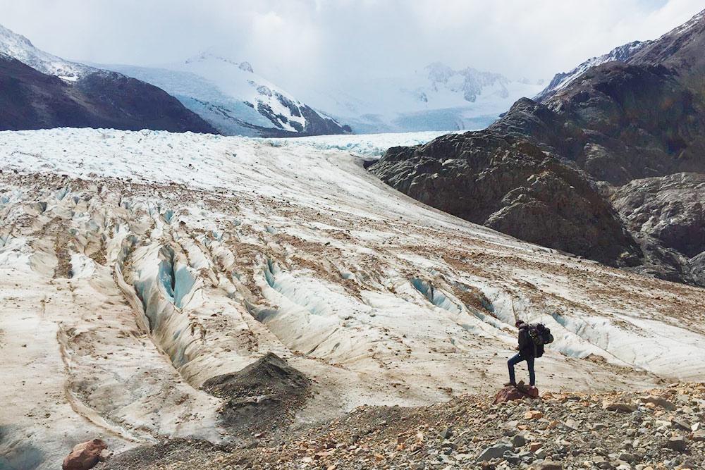 В Патагонии можно соприкоснуться с гигантскими ледниками