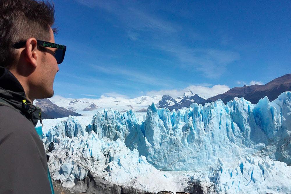 Ледник Перито-Морено: ледяные стены такой высоты я видел только здесь и в Антарктике