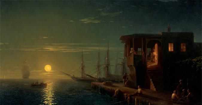 А его же «Оттоманская империя в лунном свете» — за 280 830$