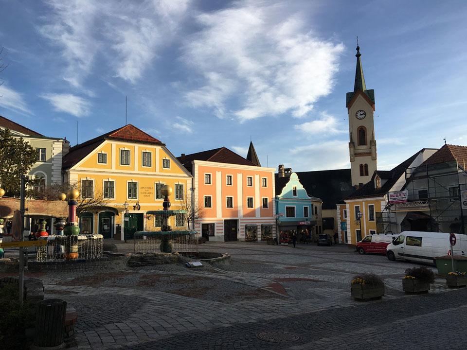 Сейчас мы живем в Цветле — это маленький город в земле Нижняя Австрия недалеко от Вены