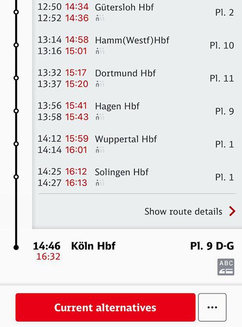 Скриншоты с опозданием поездов