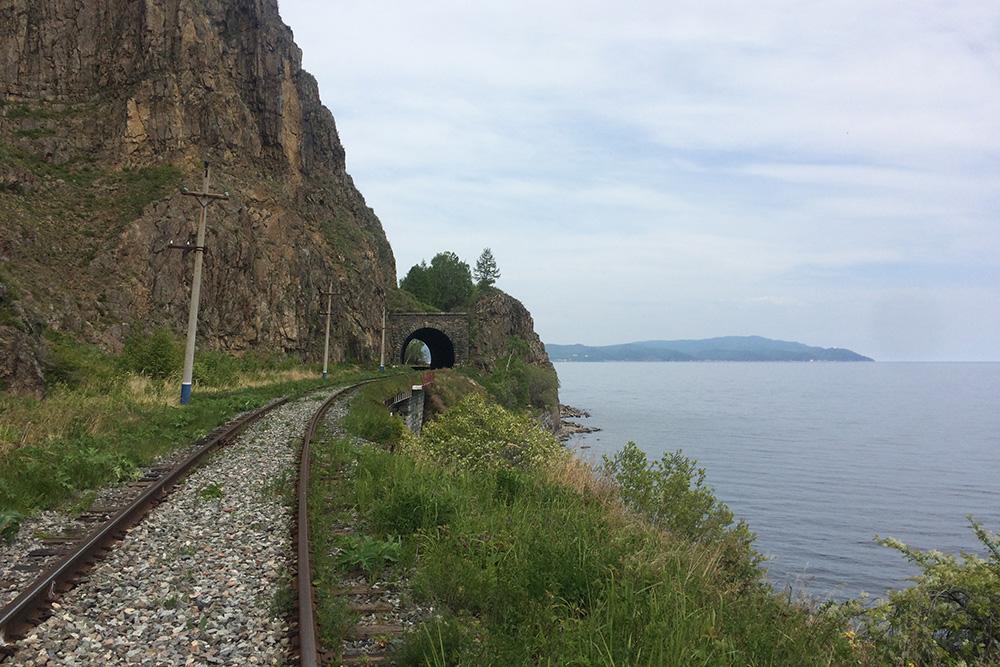 Все тоннели на Кругобайкальской железной дороге разной формы