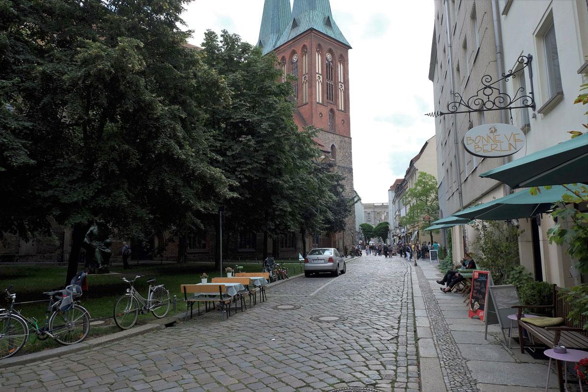 Единственный сохранившийся исторический квартал Берлина — Николаифиртель