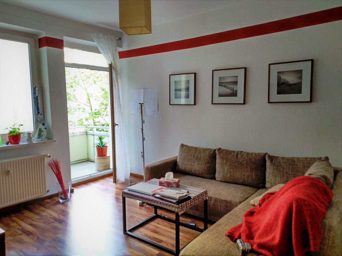 Моя квартира в Пренцлауэр-Берге. Вся мебель и декор включены в стоимость