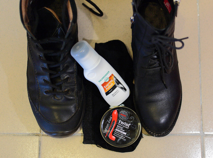 Средства для ухода за обувью, которые можно купить в любом хозяйственном магазине