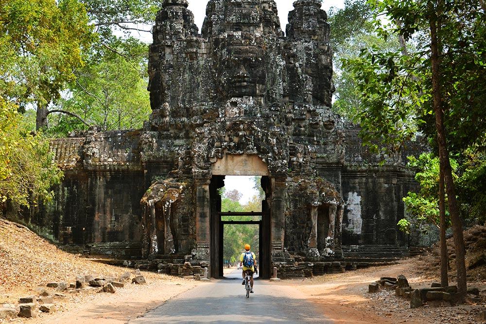 Ворота храмового комплекса Ангкор-Тхом
