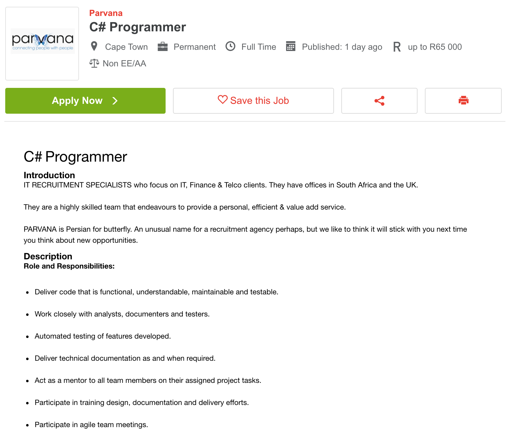 Программисты могут зарабатывать здесь до 65 000 ZAR (314 600<span class=ruble>Р</span>) в месяц