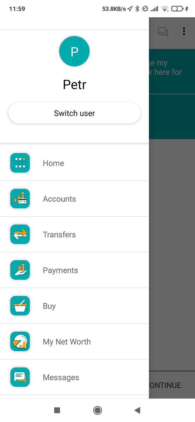 Основные функции нашего банковского приложения