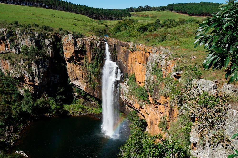 Водопад Берлин в Мпумаланге. Это уже другой конец страны, недалеко от Йоханнесбурга