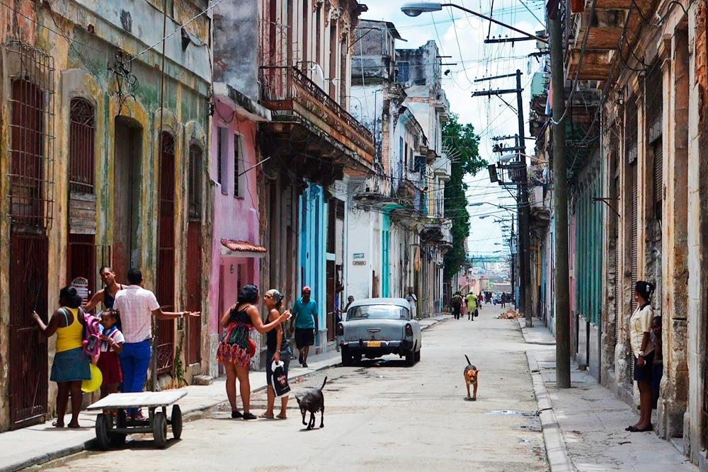 Старая Гавана — один из самых атмосферных районов столицы Кубы