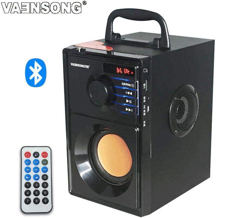 В прошлом году у нашей колонки плохо работал пульт, поэтому мы ее продали. В этом году заказали {колонку с «Алиэкспресса»}(https://ru.aliexpress.com/item/Free-shipping-portable-stereo-Bluetooth-speaker-2-1-subwoofer-can-play-TF-card-and-USB-and/32428788857.html?spm=a2g0v.search0104.3.326.0V0748&ws_ab_test=searchweb0_0,searchweb201602_1_10152_10065_10151_10068_10344_10345_10342_10343_10340_10341_10543_10541_10307_10301_10060_10155_10154_10056_10055_10539_10537_10536_10059_10534_10533_100031_10103_10102_5670011_10169_10142_10107_5660011_10084_10083_10312_10313_10314_10211_10550_10128_10073_10551_10129_10552_10553_10554_10555_10557_5650011_10125-10550,searchweb201603_2,ppcSwitch_5&btsid=514231e6-d006-4ee2-9d30-cac46416bb5f&algo_expid=485ec888-81b9-466c-87fb-fb5980bb7d79-36&algo_pvid=485ec888-81b9-466c-87fb-fb5980bb7d79)