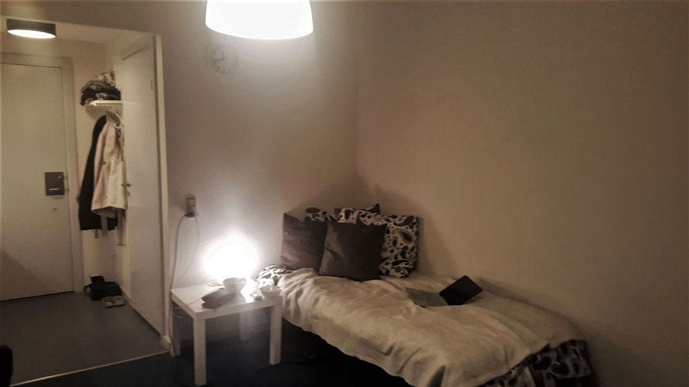 Так выглядела моя комната в общежитии