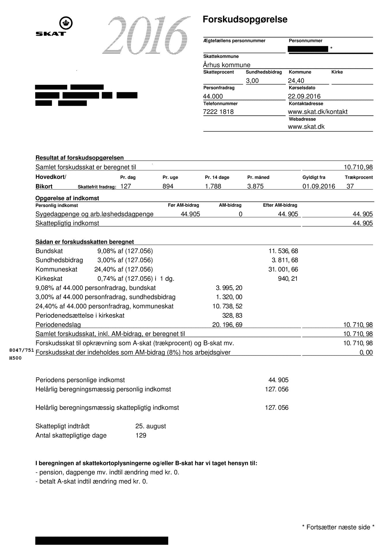 Вот так выглядела моя налоговая форма в прошлом году
