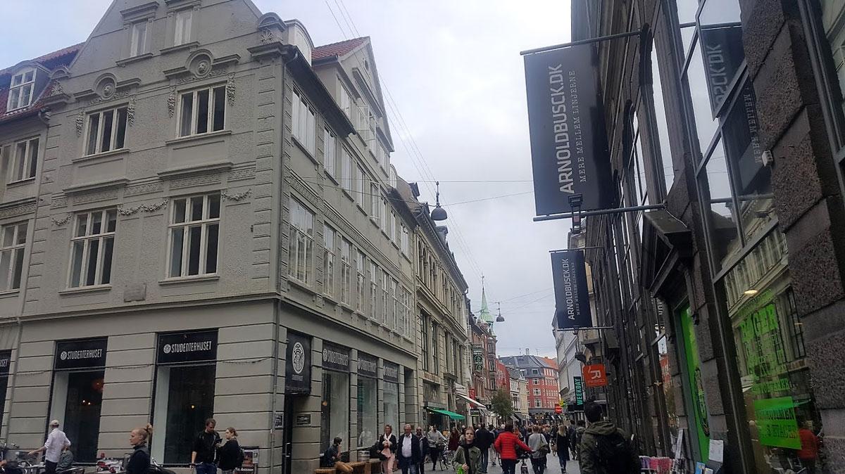 «Студентехус» находится в самом центре Копенгагена; днем второй этаж можно использовать как учебное пространство
