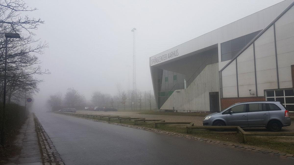 Дождь и туман — частые явления в Дании