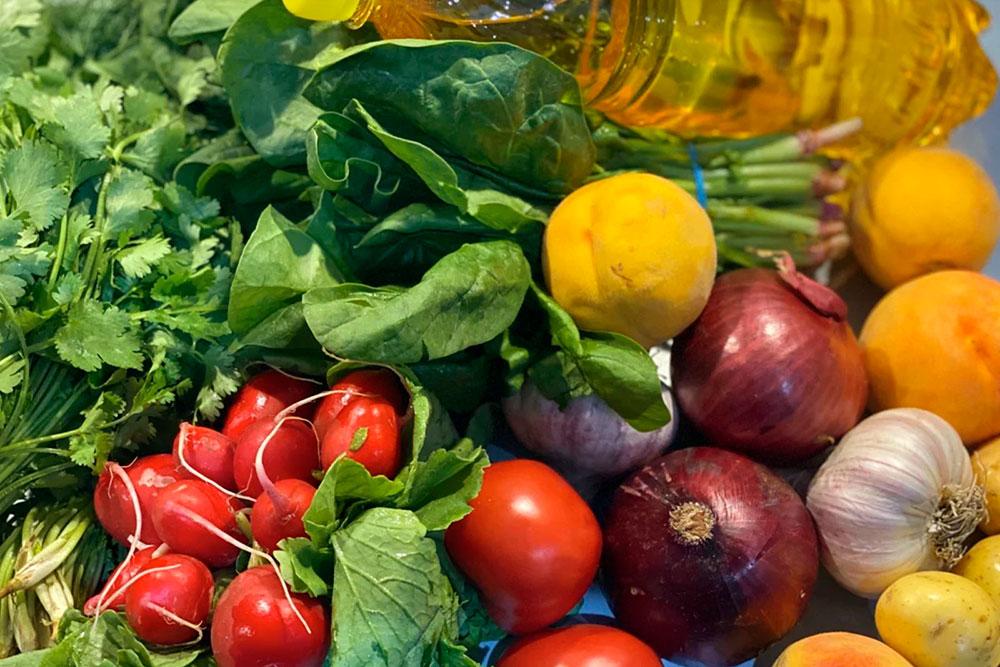 Овощи с рынка