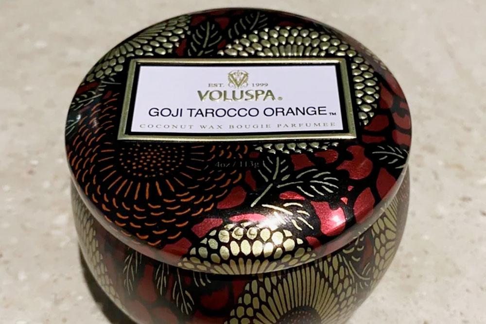 Аромат называется «Ягода годжи и красный апельсин»