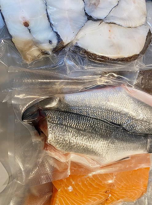 Завакуумированная рыба