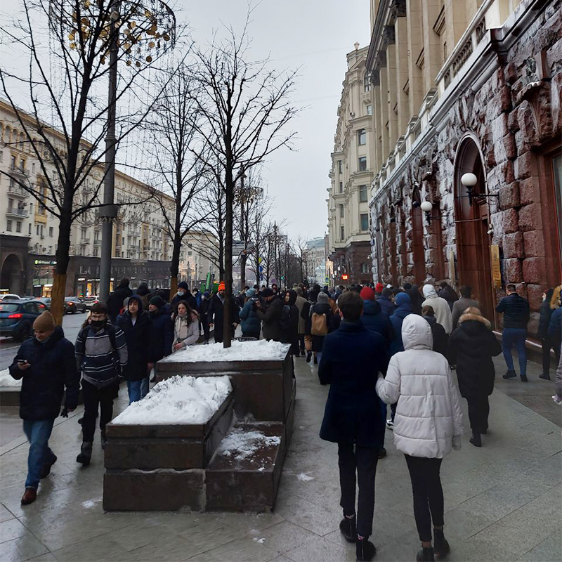 Дошли до Красной площади и там уже решили закругляться