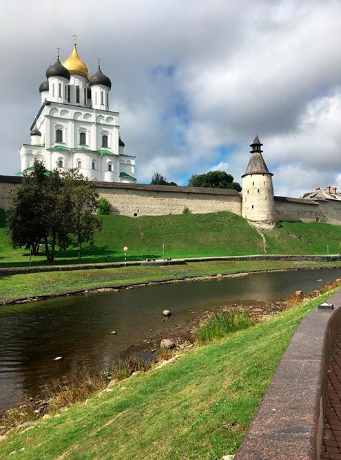 В Псков мы приезжали уже много раз
