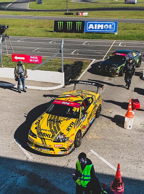 Машины-участницы гонки