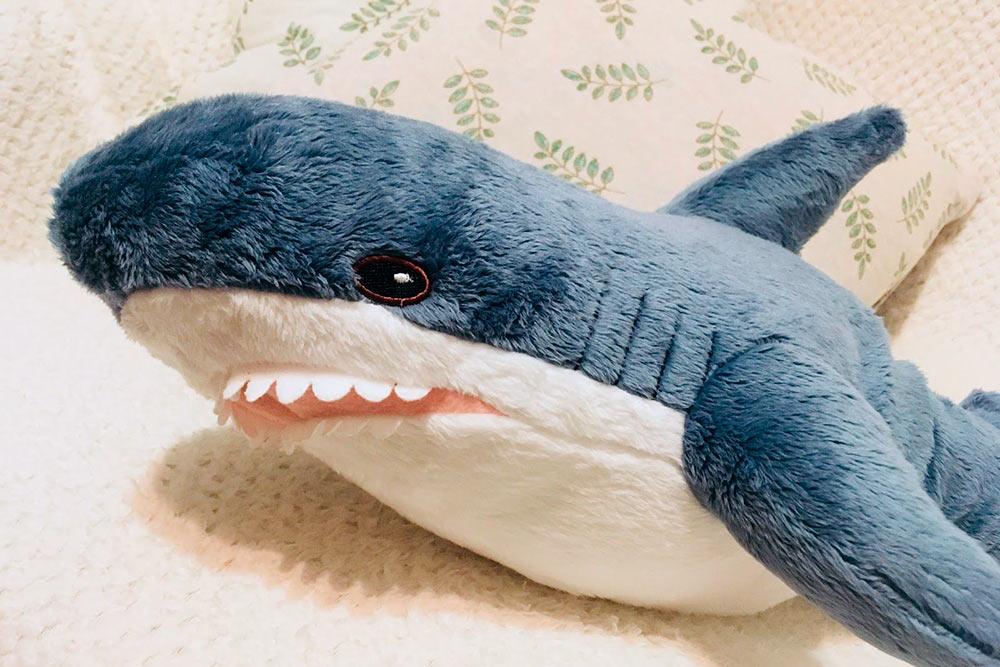 Купила в Икее акулу