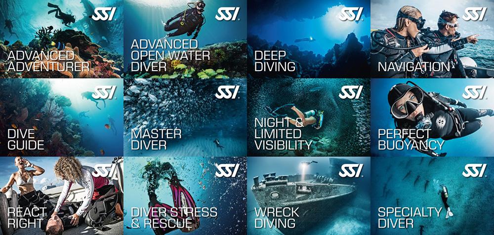 Мои сертификаты на текущий момент. Могу погружаться на глубину до 40 метров, нырять ночью и в условиях плохой видимости, погружаться на затопленные объекты. Еще я прошла курс первой помощи дайверам и могу быть дайв-гидом