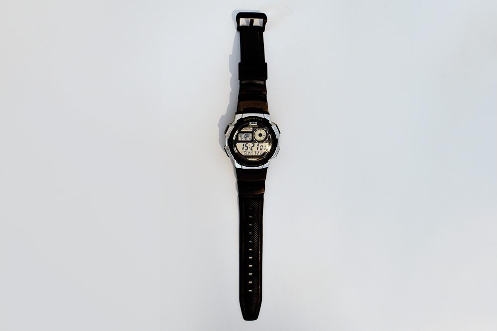 Мои подводные часы Casio за год активной эксплуатации уже потерлись, но работают исправно