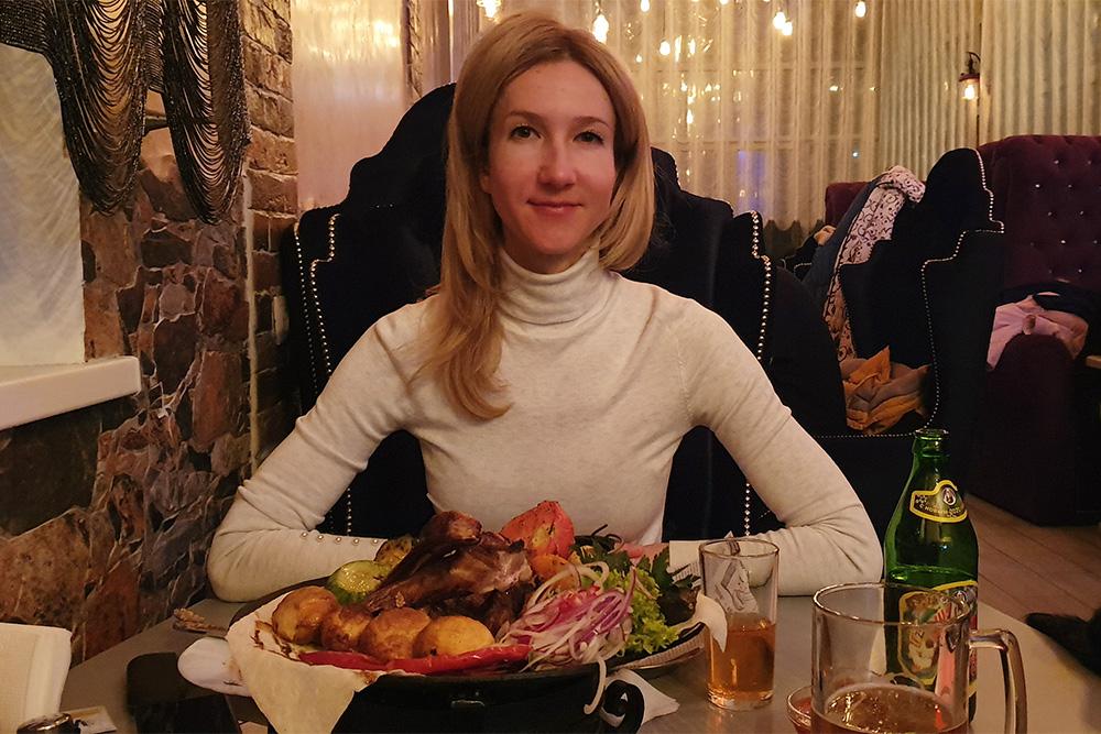 Первый ужин в кафе «У Зули»