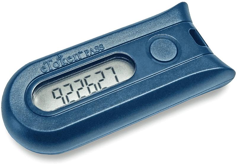 Брелок-токен: через пару минут числовой код изменится