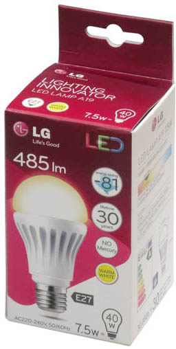 Обозначения на упаковке светодиодной лампы
