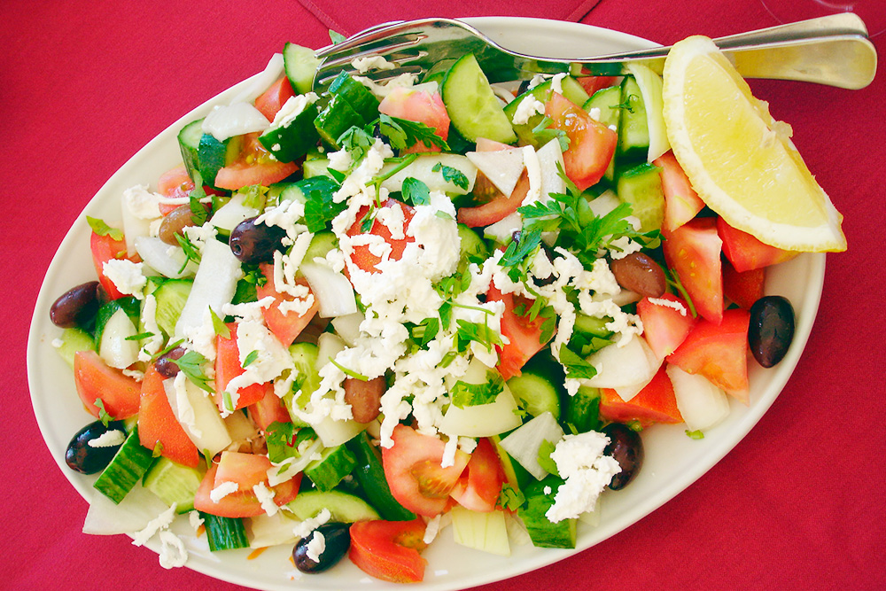 Порции на Кипре большие. Иногда одного блюда хватает на двоих. Источник: CTO Zurich / flickr.com