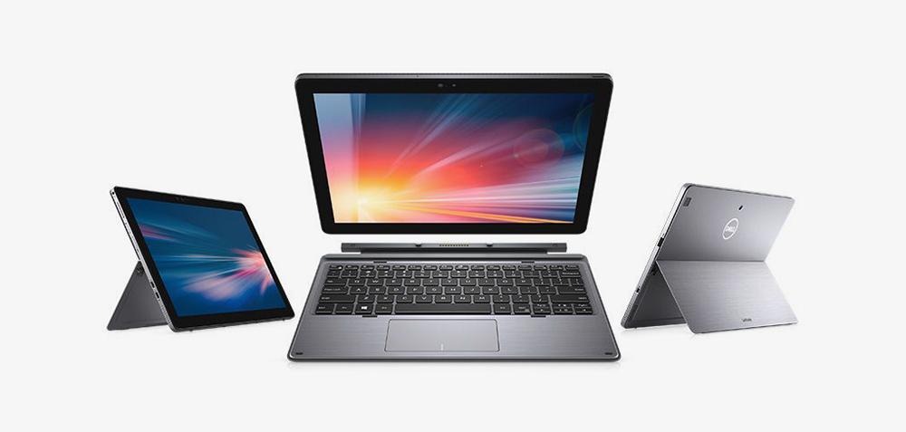 Это ноутбук-планшет от Dell