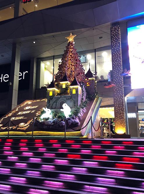 Католическое Рождество и Новый год в Сингапуре не самые главные праздники, но город украшают так, что только на декорации и можно смотреть