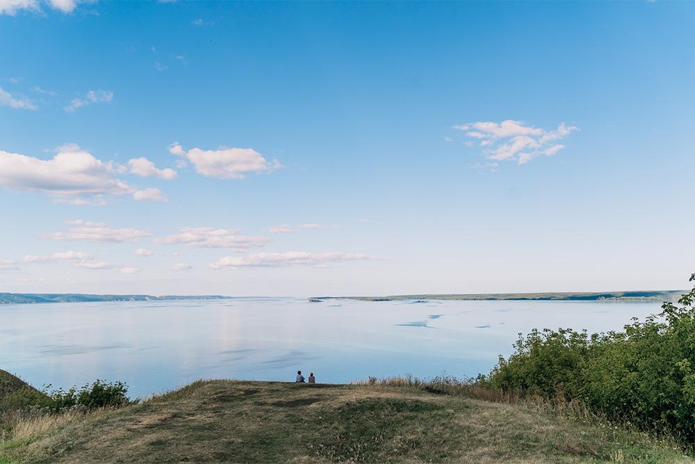 Вид не хуже, чем в Камском устье. На самом деле Тетюши недалеко — всего в 40 километрах. Источник: Анастасия Губинская