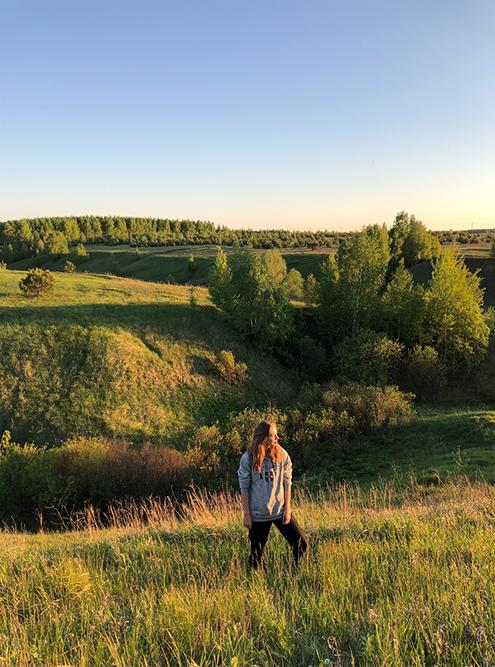 Мы с друзьями часто выезжаем за город на закате, чтобы полюбоваться пейзажами