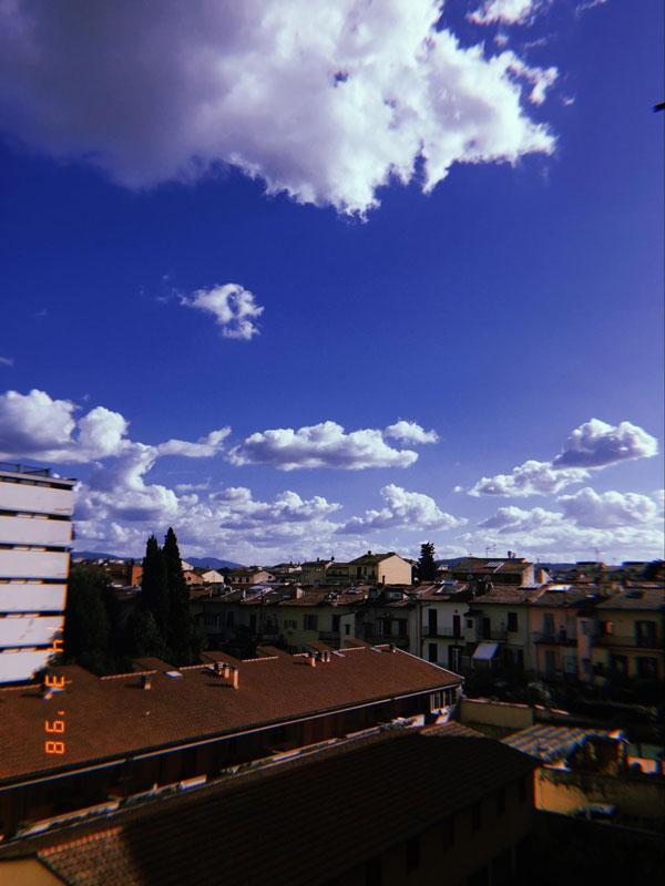 Вид на Флоренцию с балкона моей квартиры