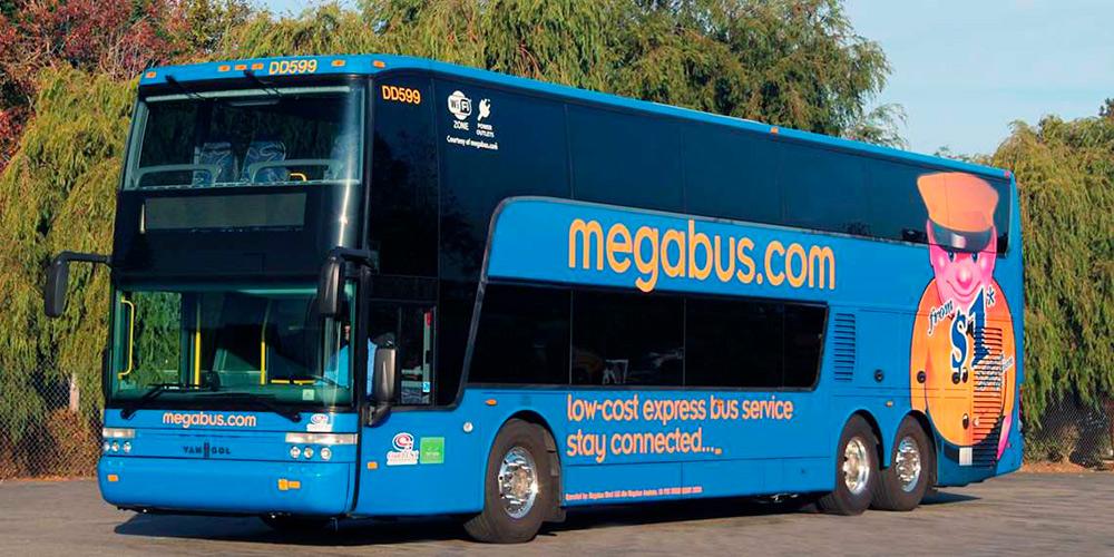 Автобусы компании Megabus. Источник: us.megabus.com