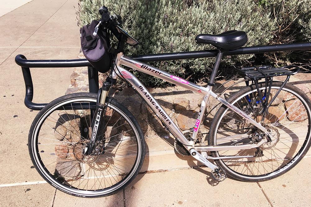 Прокатный велосипед