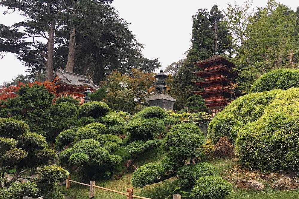 Японский сад был красивым, но особо меня не впечатлил — за деньги ябы туда точно не пошла