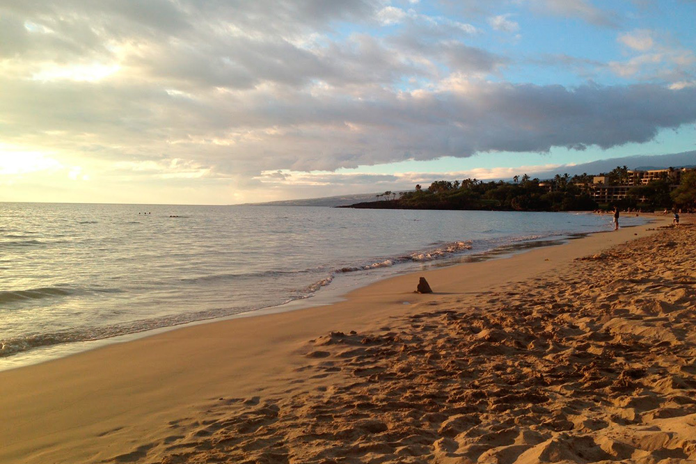 Пляж парка «Хапуна» наБольшом острове
